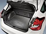 Oem Factory Stock Ford 2012 12 2013 13 Focus 5 Door Hatchback with Subwoofer Rear Back Cargo Liner Weather Floor Mat Black