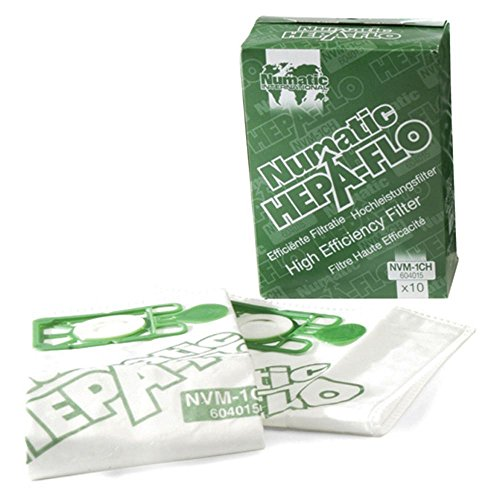 Numatic Brand New Henry Hepa-Flo Vacuum Cleaner Dust Bags 20 Pack