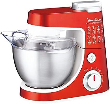 Robot De Cocina Moulinex Masterchef Gourmet Rojo: Amazon.es: Hogar