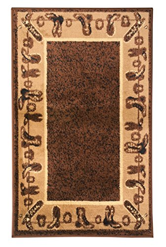 Amazon Com Rugs 4 Less Collection Cowboy Western Cabin