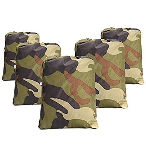 Alamor Camouflage Waterproof Motorcycle Bicycle Cover Quad ATV Vehicle Scooter Motor Bike Universal M-3XL - M