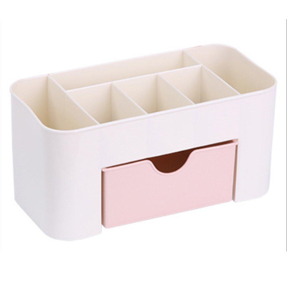 JER desktop cosmetici organizzatore di plastica box organizzatore Storage Case