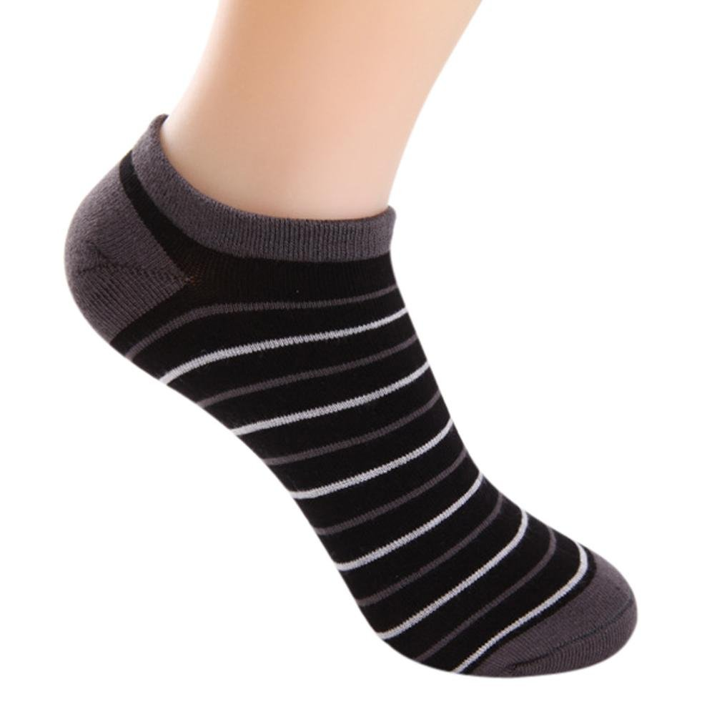 Socks, Manadlian 5 Pairs Men Bamboo Fiber Loafer Breathable Stripe Gym Sport Socks Liner Low Cut Socks Manadlian 5 Pairs Men Bamboo Fiber Loafer Breathable Stripe Gym Sport Socks Liner Low Cut Socks (Black Free)