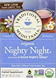 Traditional Medicinals Organic Nighty Night Tea, Caffeine Free, 16 Count Review