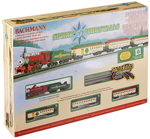 Bachmann Spirit Of Christmas Ready To Run Electric Train Set - N Scale - Christmas Model Trains