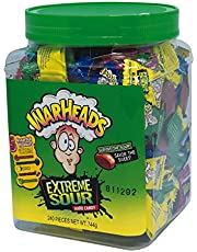 Warheads A Extreme Sour Hard Candy Tub, 744 g, Sour