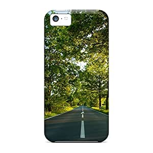 New Iphone 5c Case Cover Casing(road)