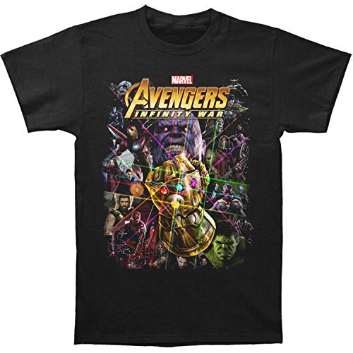 Impact Avengers Infinity War Group Shot Adult T-Shirt