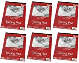 9'' x 12'' Studio 71 Tracing Pads, 100 Sheets (Pack of 6)