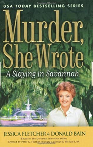 book cover of A Slaying in Savannah