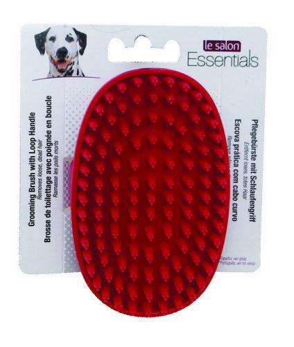 LeSalon 91248 Hunde Fellpflegebürste mit Schlaufe