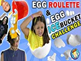 Egg Roulette Challenge With Raw Egg Ice Bucket Dump On Dallas The Pizza Guy