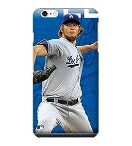 Diy Best Case iPhone 6 Plus case cover, MLB - Clayton Kershaw #22 LA Dodgers Action Shot - iPhone 6 Plus case cover wumX9oBnuZh - High Quality PC case cover