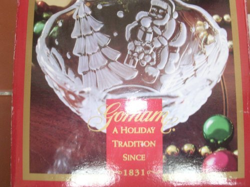 Gorham Christmas Santa Bowl 5 -