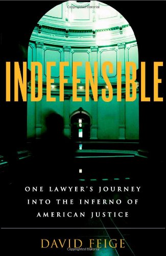 Indefensible: One Lawyer's Journey into the Inferno