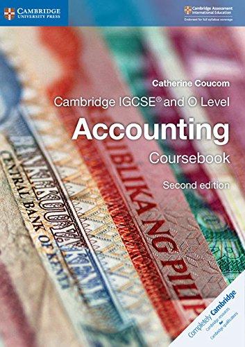 Best Cambridge IGCSE® and O Level Accounting Coursebook (Cambridge International IGCSE) Z.I.P