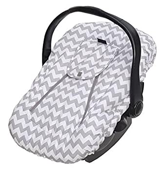 Cool Jolly Jumper Sneak A Peek Sneak A Peek Infant Carseat Cover Deluxe Chevron Uwap Interior Chair Design Uwaporg