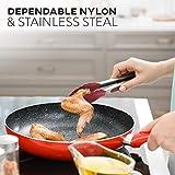 Kitchen Utensil Set 24 Nylon and Stainless Steel