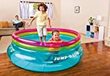 Intex Jump O Lene Bouncer House Can Sit and Play Reliably Built in Ledge