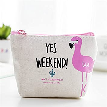 Luggage & Bags 1pc Flamingo Simple Cute Small Coin Purse Cartoon Coin Baby Shower Birthday Party Decorations Kids Happy Birthday