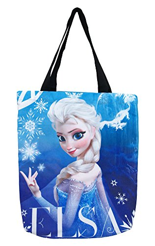 Disney Frozen Elsa Die Sublimation Large Shoulder Tote Bag