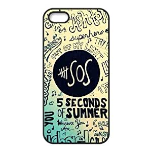 iphone5 5s Case (TPU),iphone5 5s Cell phone case Black for 5 S O Summer - KKHG5347514