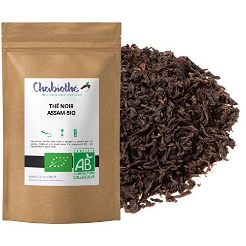 Te Negro natural Assam India BIO 200g - organico bolsa biodegradable