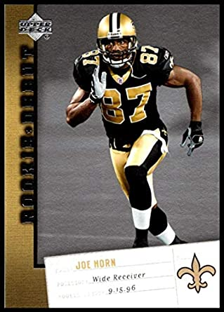 competitive price 05bc7 6d74f Amazon.com: 2006 Upper Deck Rookie Debut #62 Joe Horn NM-MT ...