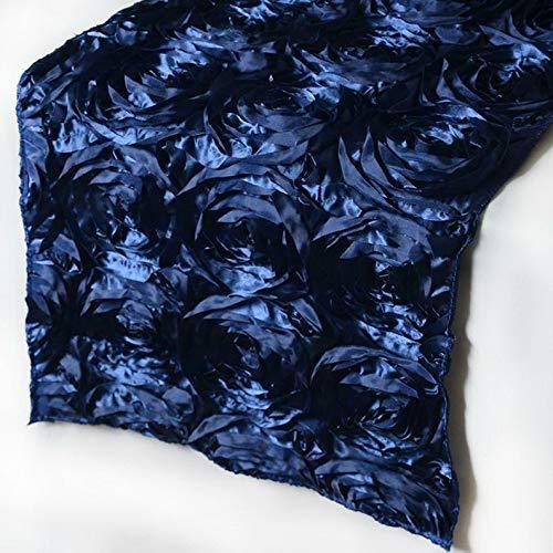 Mikash 5 Pack Ribbon Rosette Table Runner Wedding