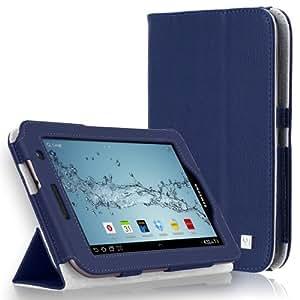 "CaseCrown CAS1135 7"" Folio Azul funda para tablet - Fundas para tablets (Folio, Samsung, Galaxy Tab 2, 17,8 cm (7""), 159 g, Azul)"