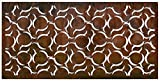 "decorative fence panels Natural Screens by Be Metal Be ""Cannonball"" Laser Cut Decorative Steel Privacy Screen / Panel"