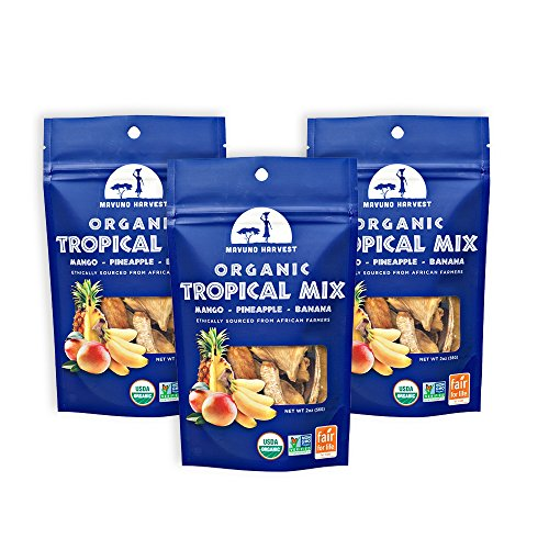 t Trade Organic Dried Fruit, Tropical Mix, 3 Count ()