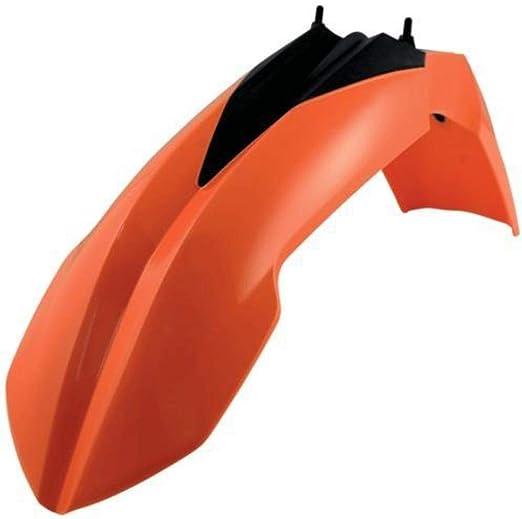 UFO KTM EXC EXCF 2014-2016 Front Fender Orange