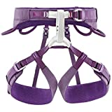 PETZL Women's Luna Climbing Harness Plum Purple L