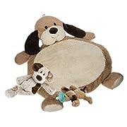 Mary Meyer Bestever Baby Mat with Plush Puppy & WubbaNub