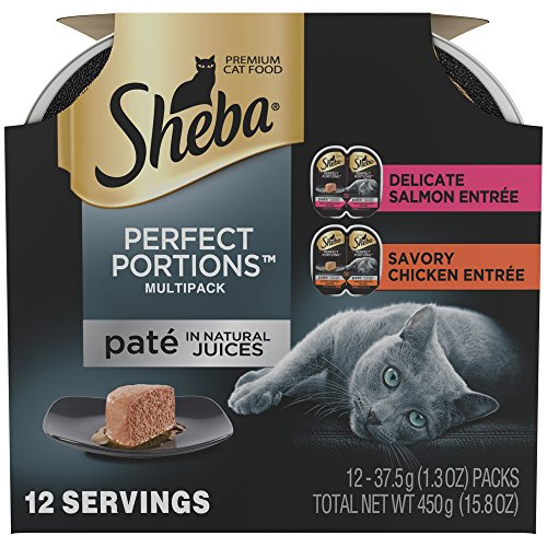 SHEBA PERFECT PORTIONS Multipack Chicken and Salmon Entrée