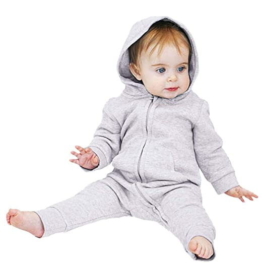 77e8498700d8 Amazon.com  Tronet Baby Boys Girls Kids Cute Autumn Winter Jumpsuit ...