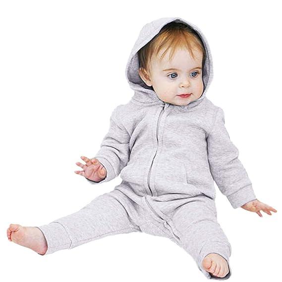... niños bebés Chaqueta con Capucha Manga Larga Mameluco de Conejo de Dibujos Animados con Cremallera Ropa de Saco de Dormir: Amazon.es: Ropa y accesorios