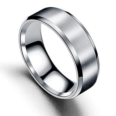Amazon.com: Antot Anillos para hombres y mujeres, compromiso ...