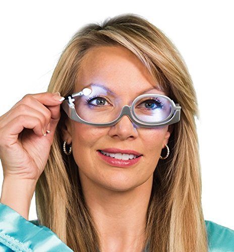 1fdabdcf547 Buy CPEX Rotating Magnify Eye Makeup Glasses Reading Glasses Flipup Glasses  Women Cosmetic General Online at Low Prices in India - Amazon.in