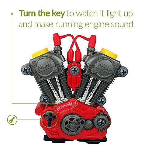 Toy Engine & Tool Set For Kids