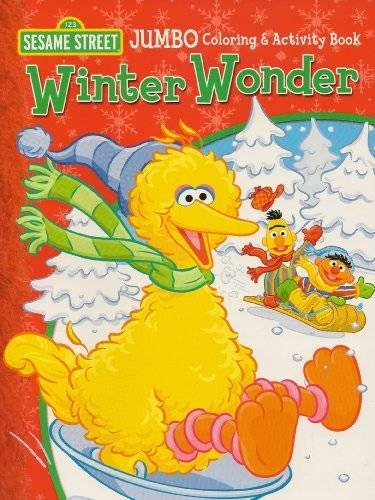 Sesame Street Christmas Jumbo Color Activity Book John Barrett 9781593946463 Amazon Com Books