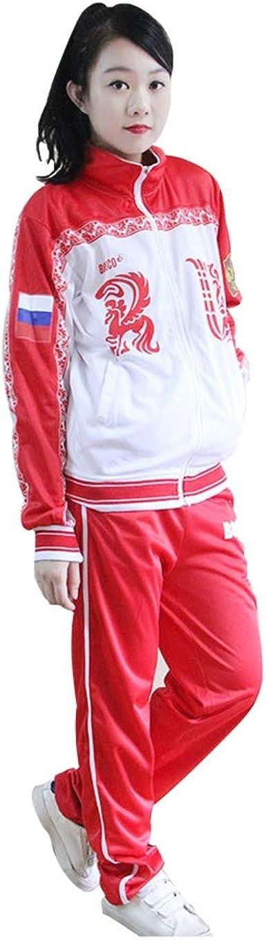 Lilongjiao YURI !!!sur les costumes ICE Victor Veste Yuri On Ice Halloween Costume Cosplay Anime Manteau Russie Set