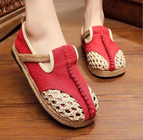 de Zapatos o Mujer MISSMAOM Cordones Escarpines Dise tP0Hpwq