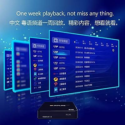 IPTV Box Caja receptora de Canales asiáticos con Funciones de ...