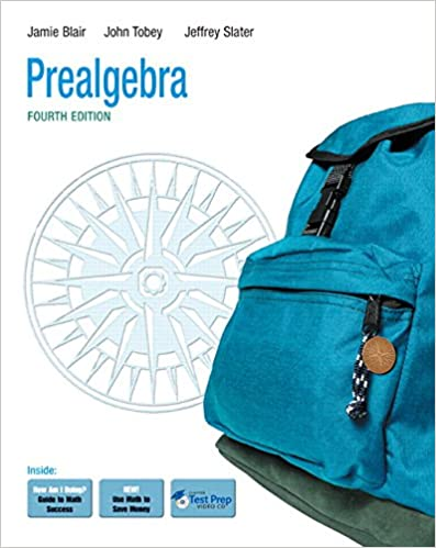 Prealgebra 4th edition jamie blair john jr tobey jr jeffrey prealgebra 4th edition 4th edition fandeluxe Gallery