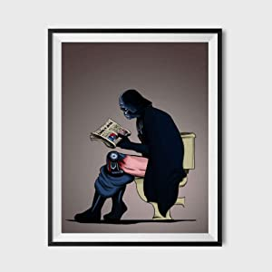 SUATMM Star Wars Darth Vader on The Toilet Parody Poster 11