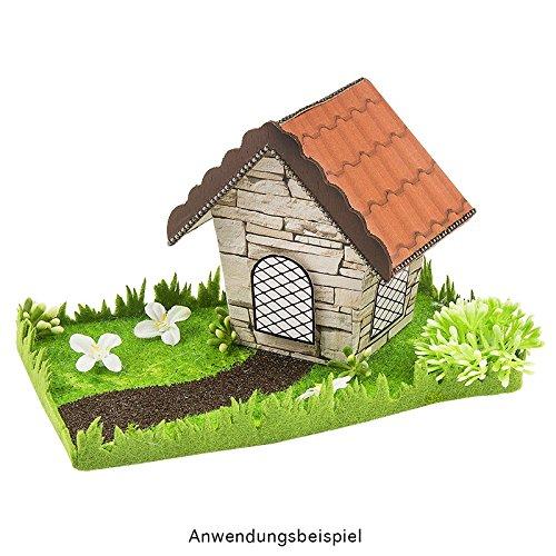 DIY manualidades Primavera Decoraci/ón para Casa y jard/ín Dise/ño Madera 9/x 9/x 7/cm Pajarera 3 dom/éstica unidades