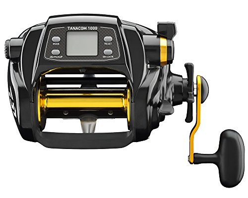 Daiwa TANACOM1000 Dendoh Fishing Reel, 30-40 lb, Black