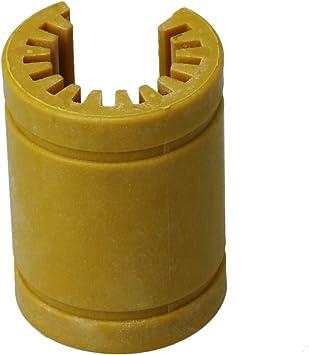 BQLZR rodamiento lineal de plástico tipo abierto, tamaño LM16 OP-S ...